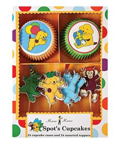 Take a look at this Spot the Dog Cupcake Kit by Meri Meri on #zulily today!