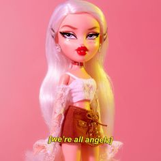 Bratz a n g e l z✨ Aesthetic dolls Boujee Aesthetic, Bad Girl Aesthetic, Aesthetic Collage, Aesthetic Pictures, Aesthetic Pastel, Bratz Doll Makeup, Phineas Et Ferb, Photowall Ideas, Bratz Girls