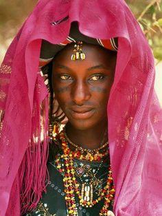 Wodaabe Bride, Niger