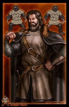 Grande Jon Umber - É o Senhor da Última Lareira e o chefe da Casa Umber , uma casa vassala e fiel aos Stark de Winterfell. Ele é mais conhecido como Grande-Jon Umber ou o Grande-Jon para distingui-lo de seu filho e herdeiro, o Pequeno Jon Umber.