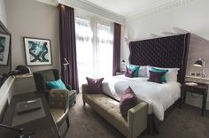 The Ampersand Hotel, London - http://www.adelto.co.uk/hotel-review-the-ampersand-hotel-london