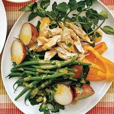 Chicken Salad With Green Beans and Potatoes Recipe