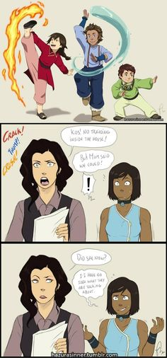 The Korrasami Kids Are Back! | Avatar: The Last Airbender / The Legend of Korra | Know Your Meme