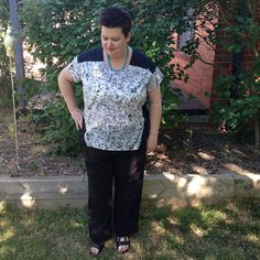 Great Geometry Top by Michelle from Buttontree Lane