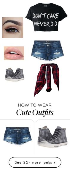 """""""Casual outfit"""" by nara242 on Polyvore featuring 3x1 and Converse"""