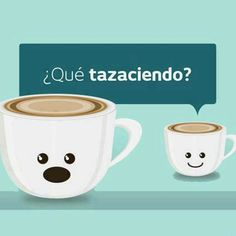 """Spanish jokes for kids: visual humor. Plays of the sound of the Spanish words ¿Qué estás haciendo?, in which people often omit the Spanish letter sound """"e"""" at the beginning of """"estás. Motivacional Quotes, Funny Quotes, Daily Quotes, Spanish Puns, Spanish Sentences, Funny Spanish, Spanish Posters, Spanish Alphabet, Funny Images"""