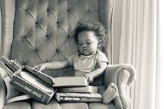 """""""Even at a young age. Books begin to shape the world around you making it look just a little bit brighter and letting you imagination soar"""""""