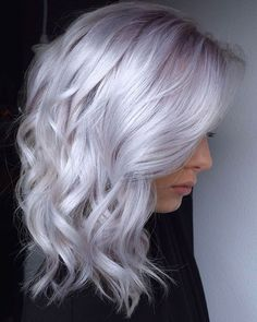 36 White Platinum Blonde Hairstyle Design Ideas To Evaluate Your Look – Page 27 of 36 – Latest Fashion Trends For Woman Blonde hair models – Hair Models-Hair Styles Ice Hair, Ice Blonde Hair, Platinum Blonde Hair Color, Silver Blonde Hair, Silver Lavender Hair, White Blonde, Platinum Blonde Hairstyles, Silver Platinum Hair, Pastel Lavender Hair