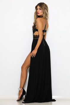 0855fef4d69c6 9 Best Black Party Dresses for Women Sassy! images