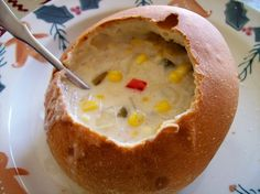 We LOVE the Corn Chowder at the Historic Old Mill Restaurant in Pigeon Forge. We make it at home now because it's always too long until our next visit to the Smokies lol.