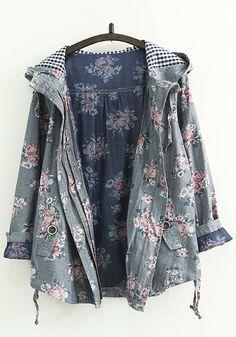 http://www.cichic.com/grey-floral-print-zipper-trench-coats.html