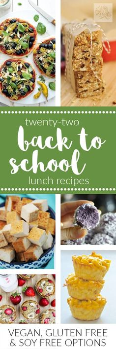 I'll help you get ready to send your kiddos back to school with 22 delicious ideas for early morning breakfasts, school lunches, and after school snacks!