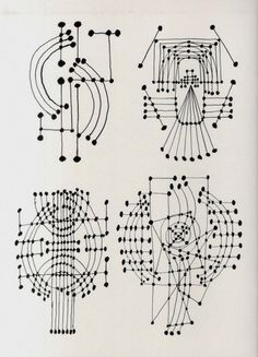 likeafieldmouse: Pablo Picasso - Constellation Drawings (1924)