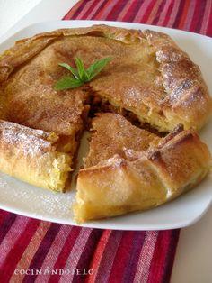 Le tenía muchas ganas a ésta receta; la he visto en varios blogs y con los que me gustan las especias y la mezcla de dulce y salado, sabía...