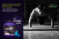 Ultimate Nutrition Prostar 100% Whey Protein 5 Lbs -Chocolate With Get Free Shaker worth rs:599/- Ultimate Nutrition Prostar with all the essential and nonessential amino acids to build muscle after intense exercise of both short and long duration. It is a customized whey that is isolated by a complex low temperature processing system that utilizes a proprietary micro and ultra filtration process to ensure the highest quality whey protein.