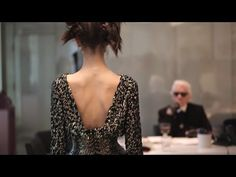 Fittings for the Spring-Summer 2014 CHANEL Haute Couture show - YouTube