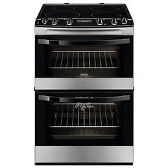 Buy Zanussi ZCI68300XA Electric Cooker, Stainless Steel Online at johnlewis.com