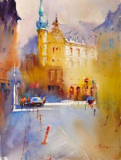 Viktoria Prischedko #watercolor jd