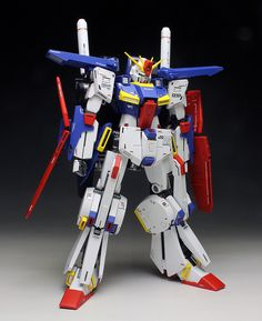 [WORK REVIEW] MG 1/100 MSZ-010 ZZ GUNDAM Ver.Ka painted build http://www.gunjap.net/site/?p=326792