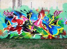 BRUS? Graffiti.