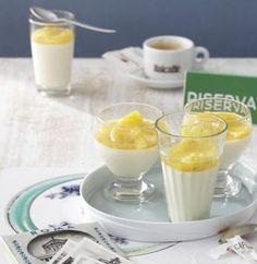 Rezept: Kardamom-Panna-cotta mit Ananas