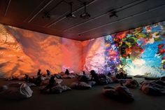 Two works by the Swiss artist Pipilotti Rist transform the Museum of Fine Arts, Houston