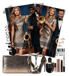 """mini dress"" by teto000 on Polyvore featuring Alexander McQueen, Rachel Zoe, Laura Mercier, Kendra Scott and minidress"