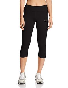 Puma Damen Tights WT Essentials 3/4, black, M, 512806 01