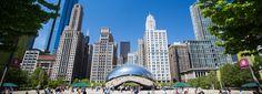 Chicago's Exciting Attractions: Millennium Park. #VisitTheUSA