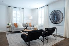 Family Room Property Brothers, Living Room Designs, Family Room, Dining Table, Furniture, Tips, Home Decor, Siblings, Homemade Home Decor