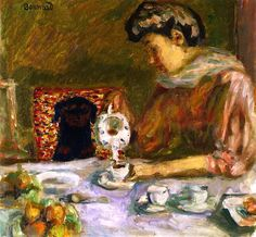 Coffee / Pierre Bonnard - 1907
