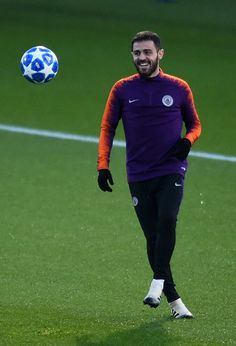 Bernardo Silva of Manchester City in action during the Manchester. Manchester England, Manchester City, December 11, Uefa Champions League, Football Players, Crackers, F1, Blues, Action