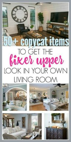 10 Inexpensive Ways To Decorate And Get The Fixer Upper