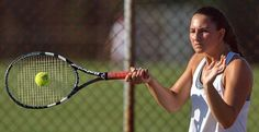 Girls Tennis: These Tuckers show a lot of fight... Call it the high school girls tennis team that never gives up. It's a great quality, and Mattituck coach Mike Huey sounds thrilled to see it.
