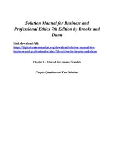 Download solution manual for fundamentals of engineering download solution manual for business and professional ethics 7th edition by brooks and dunn fandeluxe Images