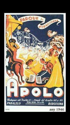 Atracciones Apolo Barcelona
