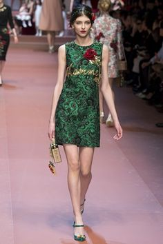 Milan Fashion Week: Dolce & Gabbana | DRESS A PORTER – BLOG