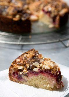 Spiced Plum Cake with Toffee GlazeReally nice recipes. Every  Mein Blog: Alles rund um Genuss & Geschmack  Kochen Backen Braten Vorspeisen Mains & Desserts!