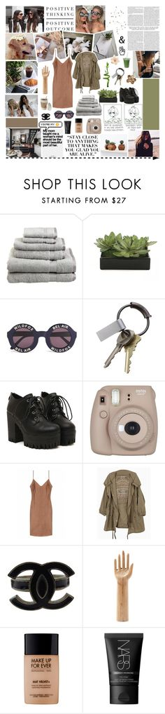 """love, don't ever change the way you are"" by greentea-and-brownies ❤ liked on Polyvore featuring Superior, Lux-Art Silks, PLANT, Wildfox, Gucci, CB2, Christies, Chanel, HAY and MAKE UP FOR EVER"