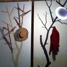 Personalize Your Entryway : Diy Tree Coat Racks Ideas