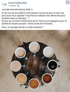 Journée internationale du café - Forest Coffee Shop