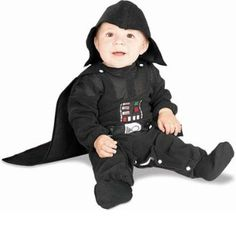 ## VERY Cute ##: New Star Wars Infant 6-12M Size 1-2 Darth Vader Costume