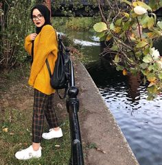 60 ideas fashion hijab style outfits beautiful - The world's most private search engine Hijab Casual, Hijab Chic, Modern Hijab Fashion, Street Hijab Fashion, Muslim Fashion, Trendy Fashion, Modest Dresses, Modest Outfits, Style Outfits