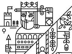 Zendesk Mural - King & Queen by Eight Hour Day #Design Popular #Dribbble #shots