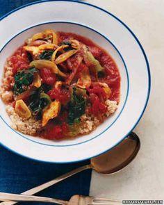 Mediterranean Chicken Stew, Courtesy: www.marthastewart.com