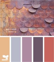 pink purple peach color scheme - Google Search