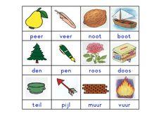 rijmkaartjes met woordjes