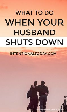 How do you talk to someone who will not communicate? How can a wife engage when her husband shuts down? One of the most frustrating things in marriage is a husband who won't talk. I know because my guy once struggled and I was super frustrated. Here's what you can do