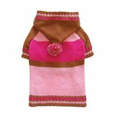 Sporty Pompom Sweater in Pink