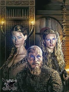 Vikings series by thecasperart.deviantart.com on @DeviantArt